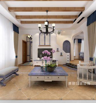 140平米四地中海风格客厅装修图片大全