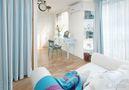 豪华型140平米四室三厅地中海风格卧室装修图片大全