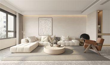 130平米三室一厅其他风格客厅装修效果图