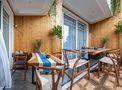 140平米复式法式风格阳光房效果图