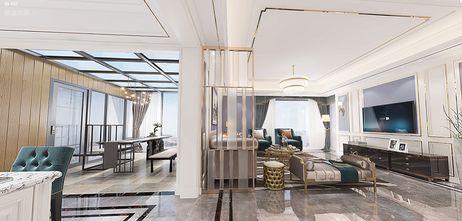 豪华型140平米四美式风格客厅图片大全