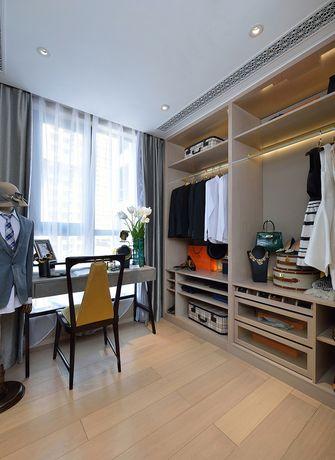 90平米三室一厅英伦风格衣帽间装修案例