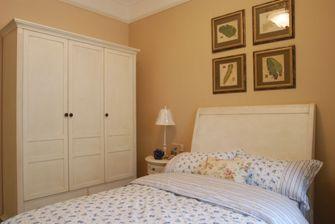 110平米四室一厅田园风格卧室图