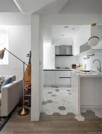 60平米三现代简约风格厨房图片