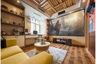 100平米三室两厅北欧风格影音室设计图