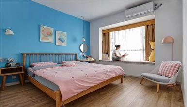 120平米三室一厅北欧风格卧室图片