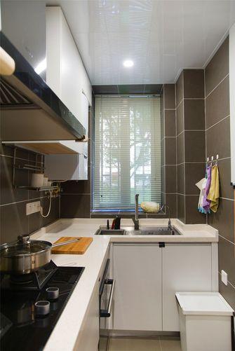 经济型80平米三室两厅田园风格厨房图片大全