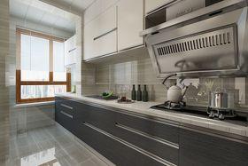 100平米三室两厅现代简约风格厨房效果图