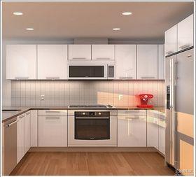 经济型100平米三室两厅现代简约风格厨房装修效果图