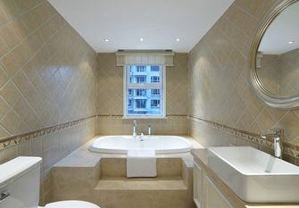 130平米三室两厅美式风格卫生间欣赏图