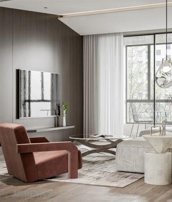 60平米一室一厅田园风格客厅装修案例