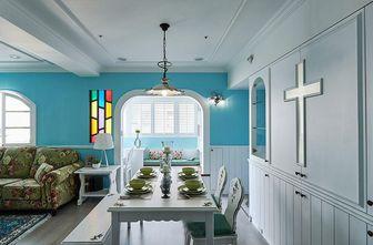 60平米一居室田园风格餐厅设计图