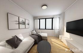 110平米中式風格客廳效果圖