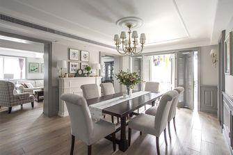 豪华型140平米四室四厅美式风格餐厅设计图