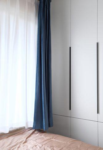 100平米三室两厅北欧风格卧室图片大全