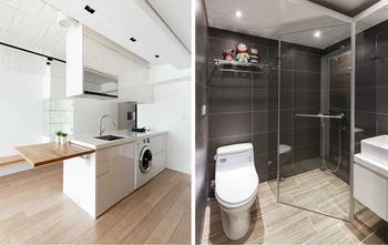 50平米一居室现代简约风格卫生间装修图片大全
