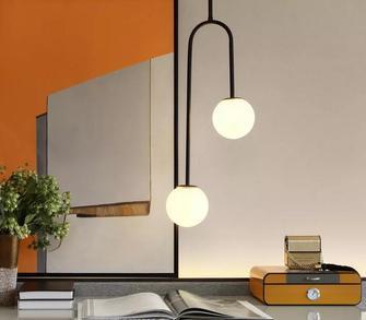 豪华型100平米复式现代简约风格书房效果图