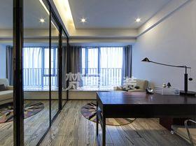 5-10万70平米现代简约风格书房装修效果图