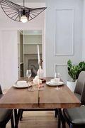 120平米宜家风格餐厅图片