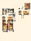 三房简欧风格设计图