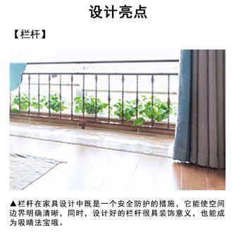 120平米三室一厅混搭风格其他区域效果图