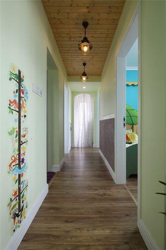 100平米三室一厅田园风格走廊图