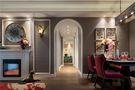 120平米四室一厅英伦风格餐厅装修效果图