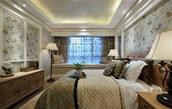 140平米三室一厅田园风格卧室装修图片大全