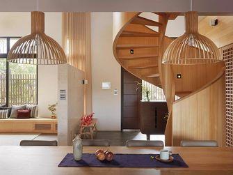 20万以上140平米四室两厅日式风格楼梯装修效果图