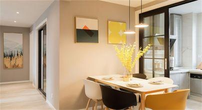 豪华型120平米三室两厅北欧风格餐厅装修效果图