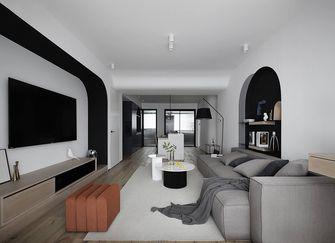 110平米三室三厅混搭风格客厅图片大全