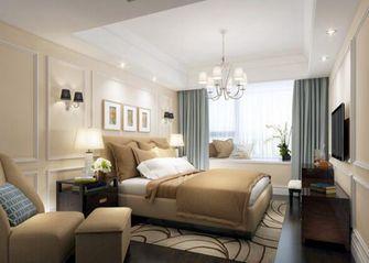 130平米美式风格卧室背景墙设计图