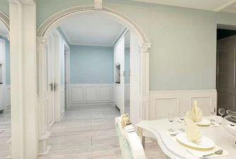 110平米三室一厅欧式风格其他区域图片