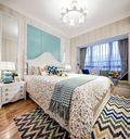 10-15万90平米三室两厅田园风格儿童房设计图