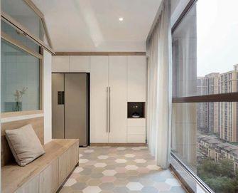 80平米三室两厅宜家风格阳台效果图