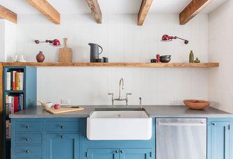 90平米一室两厅现代简约风格厨房图