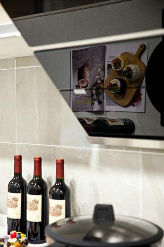 110平米三室一厅中式风格厨房装修案例