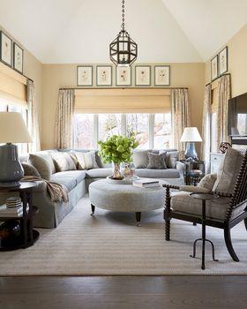 100平米歐式風格客廳設計圖