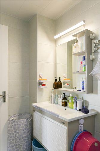 70平米一居室现代简约风格卫生间浴室柜欣赏图