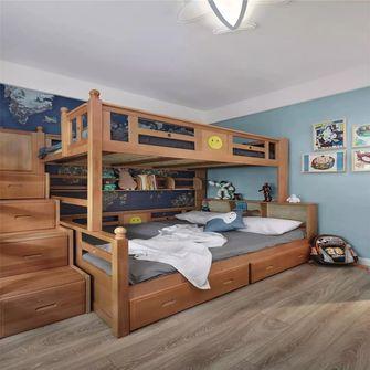 100平米三室两厅北欧风格儿童房效果图