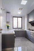 120平米四室两厅美式风格厨房装修图片大全