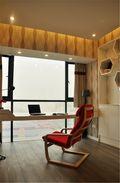 120平米三现代简约风格阳台橱柜欣赏图