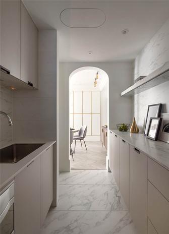 130平米三室两厅美式风格厨房图