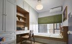 90平米三混搭风格书房设计图