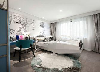 130平米三室一厅现代简约风格儿童房欣赏图