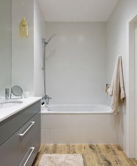 10-15万50平米一室一厅北欧风格卫生间设计图