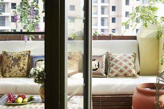 120平米四室两厅法式风格阳台装修案例