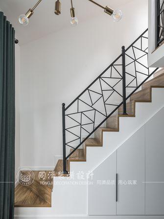 60平米北欧风格楼梯间图片