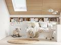 140平米复式日式风格儿童房图片大全