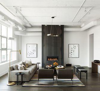 90平米三室两厅混搭风格客厅欣赏图